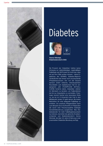 Diabetes-Schulung