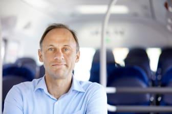 Geert Schaap Chef hållbarhet & innovation Svealandstrafiken AB