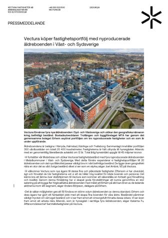 Pressmeddelande_Vectura köper fastighetsportfölj med nyproducerade äldreboenden i Väst- och Sydsverige.pdf