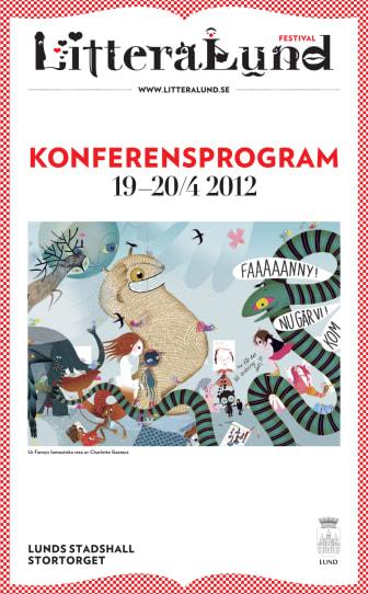 Konferensprogram LitteraLund Festival 2012