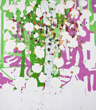 Olav Christopher Jenssen, Lackmus Painting No. 7, 2004