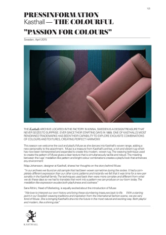 NEWS FROM KASTHALL AT SALONE