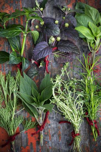 Kryddväxter blandade