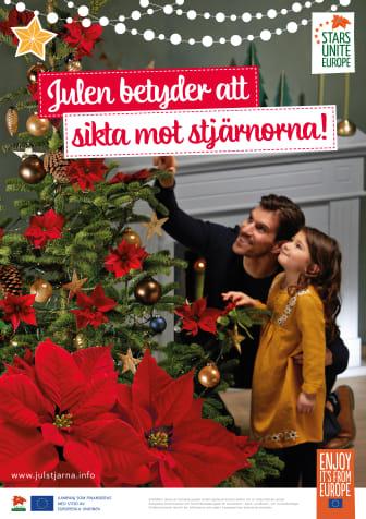 POS Poster Julstjärna 2018 familj