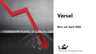 Varselstatistik mars-april, län för län