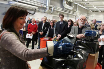 Invigning av Renovas nya anläggning för farligt avfall och elektronik