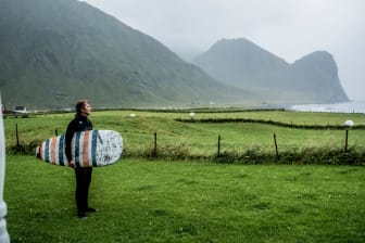 Lofoten  Unstad Arctic Surf Thomas Rasmus Skaug - VisitNorway.com