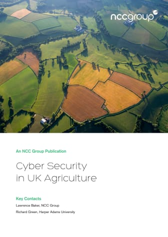NCC Group Cyber security in UK agriculture whitepaper