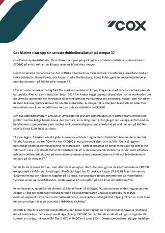 Aug 21 - Cox Powertrain showcase their latest twin installation onboard an Axopar 37_SE_FINAL.approved.pdf