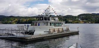 Den nye båten Ole Bull