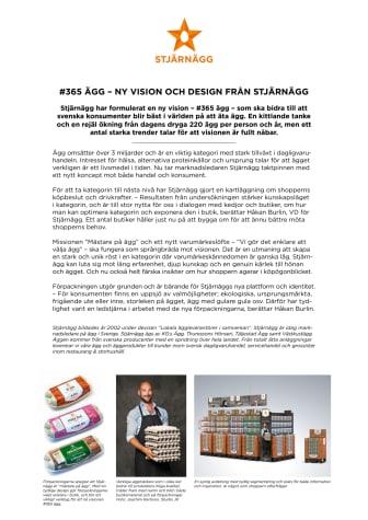 #365 ägg – ny vision och design från Stjärnägg