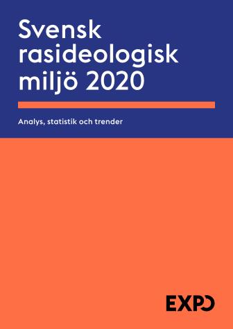 Årsrapport - den rasideologiska miljön 2020