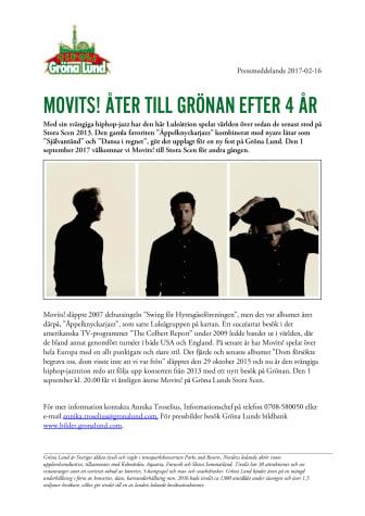 Movits! åter till Grönan efter 4 år