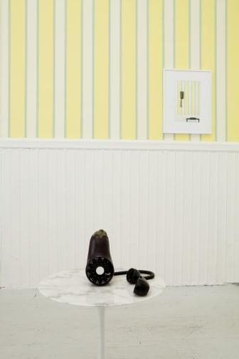 Margaret Lee, Hello (eggplant), Hello (cucumber), 2012- Private Passion