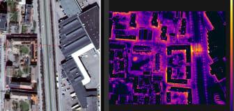 Flygfotografering avslöjade värmeläckor
