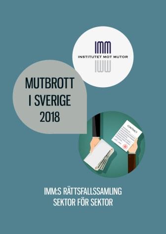 Mutbrott i Sverige 2018