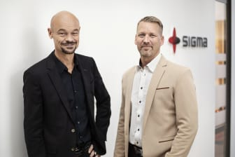 Anders Dannqvist, VD Sigma Civil Andreas Leander, avdelningschef Miljö och Geoteknik Sigma Civil i Örebro