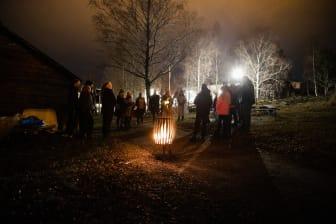 Höga Kusten Eldveckan-Västernorrlands museum_Väsenstigen Mörkervandring med lyktgubben 1