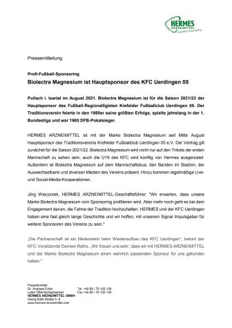Pressemitteilung - Biolectra Magnesium Hauptsponsor des KFC.pdf