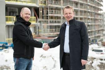 Frank Wehus og Jon Christian Hillestad