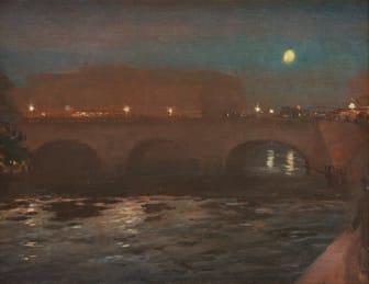 William Blair Bruce, Riksdagshuset i aftonbelysning