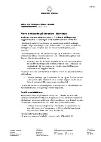 Pressmeddelande flera smittade på boende i Karlstad.pdf