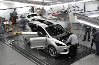 Ford visar koncept på ny global SUV på Detroit Motorshow 2011 - Ford Vertrek, bild 14