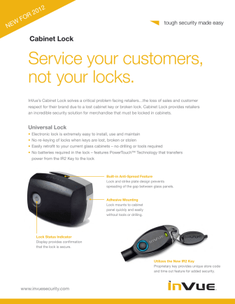 Varularm från Gate Security - InVue, Smart Lock - Universal Lock