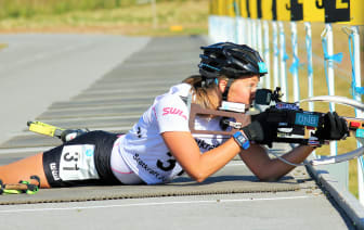NM rulleskiskyting 2015 Jaktstart Fanny Horn Birkeland