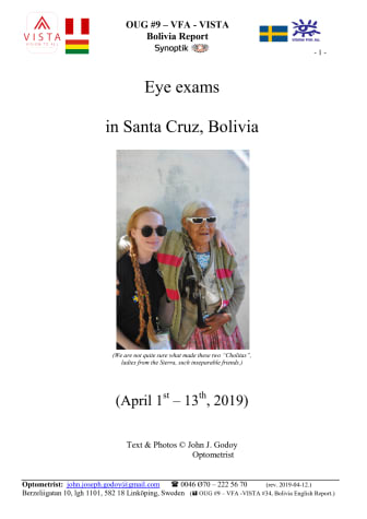 OUG i Bolivia, rapport 2019
