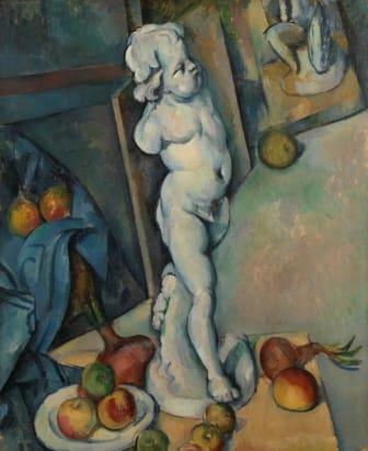 Paul Cézanne: Stilleben med Cupido / Still life with Cupid (circa 1894), The Samuel Courtauld Trust, The Courtauld Gallery, London