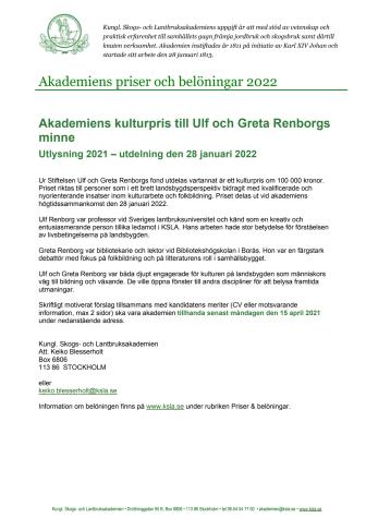 Akademiens kulturpris till Ulf och Greta Renborgs minne.pdf