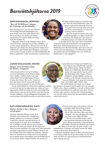 Barnrättshjältar 2019