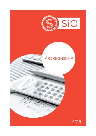 Årsregnskap SiO 2019