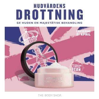The Body Shop hyllar varumärkets brittiska arv med kollektionen Vitamin E Special Edition