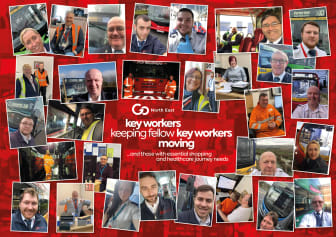 Key workers keeping fellow key workers moving