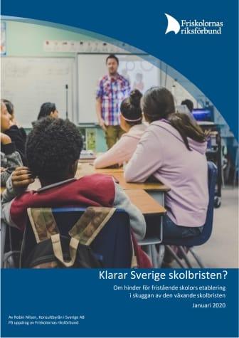 Klarar Sverige skolbristen?