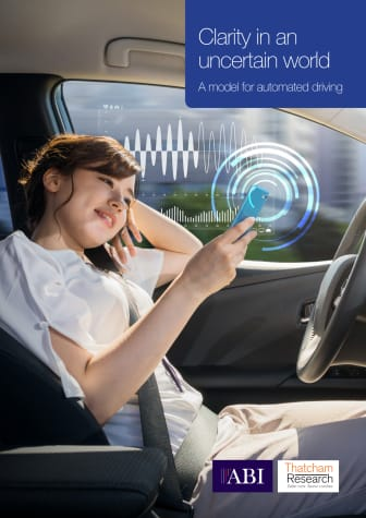 Clarity in an Uncertain World: A model for Automated Driving