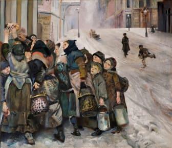 Christian Krohg: «Kampen for tilværelsen» (1890)