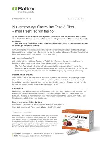 Baltex lanserar nya GastroLine Frukt & Fiber
