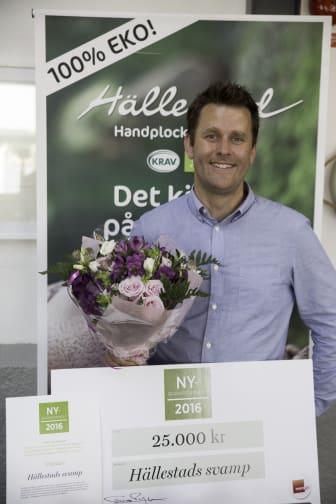 Hällestadsvamp, vinnare av Nyskaparstipendiet 2016
