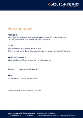 Deutschland Medienprogramm