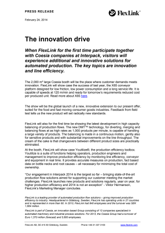 The innovation drive