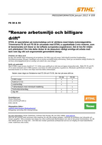 """""""Renare arbetsmiljö och billigare drift"""""""