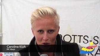 Carolina Klüft hälsar välkomna till Friidrotts-SM 2013 i Borås