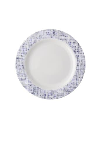 R_Moon_Cipango_Blue_Rim_plate_22_cm
