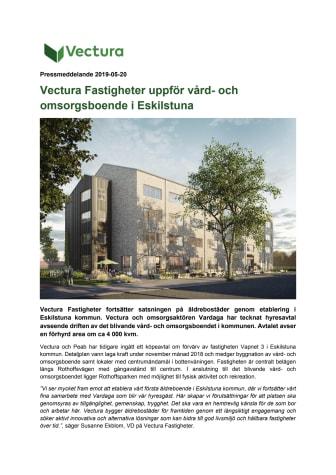 Vectura Fastigheter uppför vård- och omsorgsboende i Eskilstuna