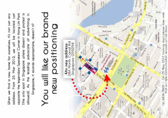 4As Office is Moving to 38A North Canal Road SIngapore 059294