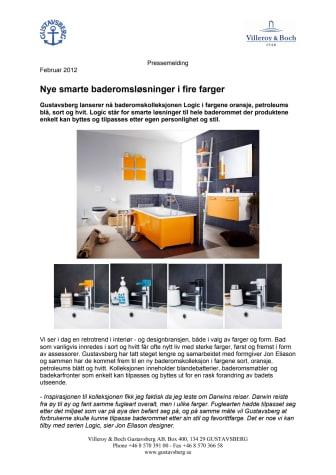 Nye smarte baderomsløsninger i fire farger