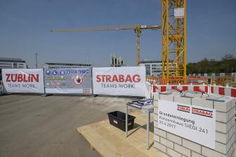 Baustelle neues Konzernhaus SIEGI.241, Köln